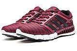 Кросівки жіночі 13095, Adidas Climacool, бордові, [ 36 ] р. 36-22,2 див., фото 7