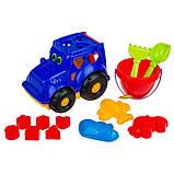 """Детский сортер-трактор """"Кузнечик"""" №3  C0343 с набором для песочницы, фото 2"""