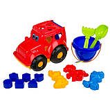 """Детский сортер-трактор """"Кузнечик"""" №3  C0343 с набором для песочницы, фото 3"""