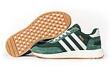 Кросівки чоловічі 16868, Adidas Iniki, зелені, [ 46 ] р. 46-29,0 див., фото 6
