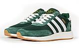 Кросівки чоловічі 16868, Adidas Iniki, зелені, [ 46 ] р. 46-29,0 див., фото 7