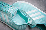 Кроссовки женские 13415, Adidas Lite, бирюзовые [ 41 ] р.(41-25,6см), фото 6