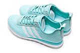 Кроссовки женские 13415, Adidas Lite, бирюзовые [ 41 ] р.(41-25,6см), фото 8
