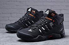 Зимние мужские кроссовки 31784, Adidas Terrex Gore Tex, черные [ нет в наличии ] р.(41-26,5см)