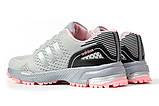 Кроссовки женские 16914, Adidas Marathon Tn, серые [ 36 38 ] р.(36-22,7см), фото 9