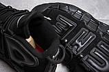 Кросівки чоловічі 13915, Nike More Uptempo, чорні, [ 44 ] р. 44-28,1 див., фото 6