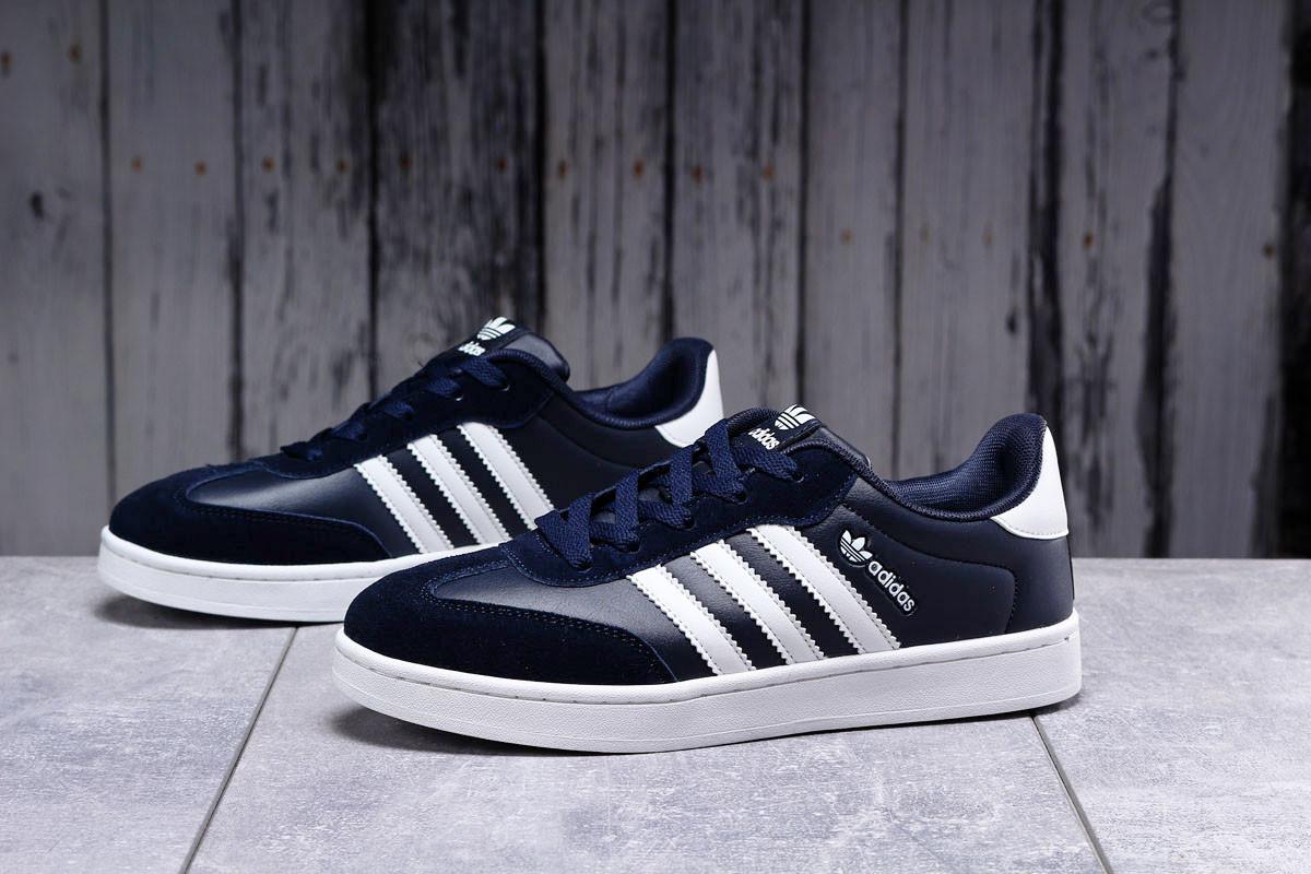 Кроссовки мужские 17811, Adidas Original, темно-синие [ 41 43 ] р.(41-26,0см)