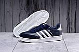 Кроссовки мужские 17811, Adidas Original, темно-синие [ 41 43 ] р.(41-26,0см), фото 2