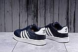 Кроссовки мужские 17811, Adidas Original, темно-синие [ 41 43 ] р.(41-26,0см), фото 4