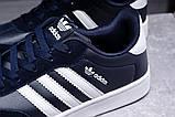 Кроссовки мужские 17811, Adidas Original, темно-синие [ 41 43 ] р.(41-26,0см), фото 6