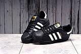 Кроссовки женские 17822, Adidas Superstar, черные, [ 36 38 39 41 ] р. 36-23,0см., фото 5
