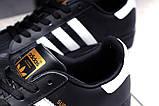 Кроссовки женские 17822, Adidas Superstar, черные, [ 36 38 39 41 ] р. 36-23,0см., фото 7