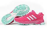 Кросівки жіночі 17001, Adidas Marathon Tn, малинові, [ 36 37 38 ] р. 36-22,5 див., фото 6
