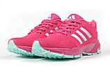 Кросівки жіночі 17001, Adidas Marathon Tn, малинові, [ 36 37 38 ] р. 36-22,5 див., фото 7