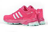 Кросівки жіночі 17001, Adidas Marathon Tn, малинові, [ 36 37 38 ] р. 36-22,5 див., фото 9