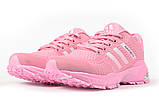 Кросівки жіночі 17002, Adidas Marathon Tn, рожеві, [ 37 38 39 40 41 ] р. 37-23,0 див., фото 7