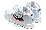 Кросівки жіночі 14192, Fila FX 100, білі, [ 39 ] р. 39-23,7 див., фото 8