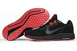 Кроссовки мужские 17020, Nike Running черны, [ 41 ] р. 41-26,2см., фото 6