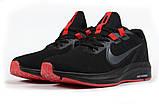 Кроссовки мужские 17020, Nike Running черны, [ 41 ] р. 41-26,2см., фото 7