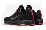 Кроссовки мужские 17020, Nike Running черны, [ 41 ] р. 41-26,2см., фото 9