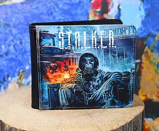 """Кошелек Сталкер """"В противогазе"""" / S.T.A.L.K.E.R."""