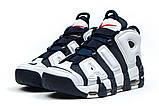 Кросівки чоловічі 14824, Nike More Uptempo, темно-сині, [ 44 ] р. 44-28,1 див., фото 7