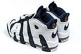 Кросівки чоловічі 14824, Nike More Uptempo, темно-сині, [ 44 ] р. 44-28,1 див., фото 8