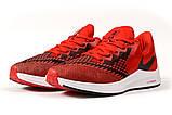 Кросівки чоловічі 17074, Nike Zoom Winflo 6, червоні, [ 41 42 43 44 45 ] р. 41-26,5 див., фото 7