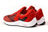 Кросівки чоловічі 17074, Nike Zoom Winflo 6, червоні, [ 41 42 43 44 45 ] р. 41-26,5 див., фото 9