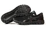 Кросівки чоловічі 17081, Asics Gel-Quantum 360, чорні, [ 42 44 45 46 ] р. 42-26,8 див., фото 6
