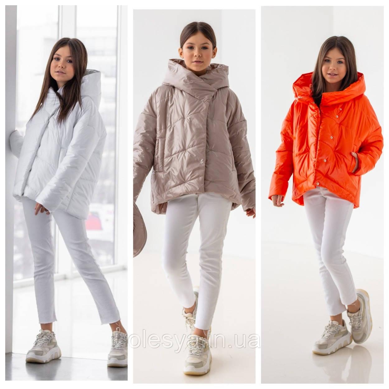 Весенняя модная куртка ТМ Барбаррис Spring размеры 140- 170