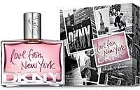 Donna Karan Love From New York for Women парфюмированная вода 90 ml. (Донна Каран Лав фром Нью Йорк фо Вумэн)