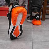 Кросівки чоловічі 15287, Nike Air 270, чорні, [ 41 42 46 ] р. 42-27,0 див., фото 5