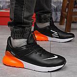 Кросівки чоловічі 15287, Nike Air 270, чорні, [ 41 42 46 ] р. 42-27,0 див., фото 6
