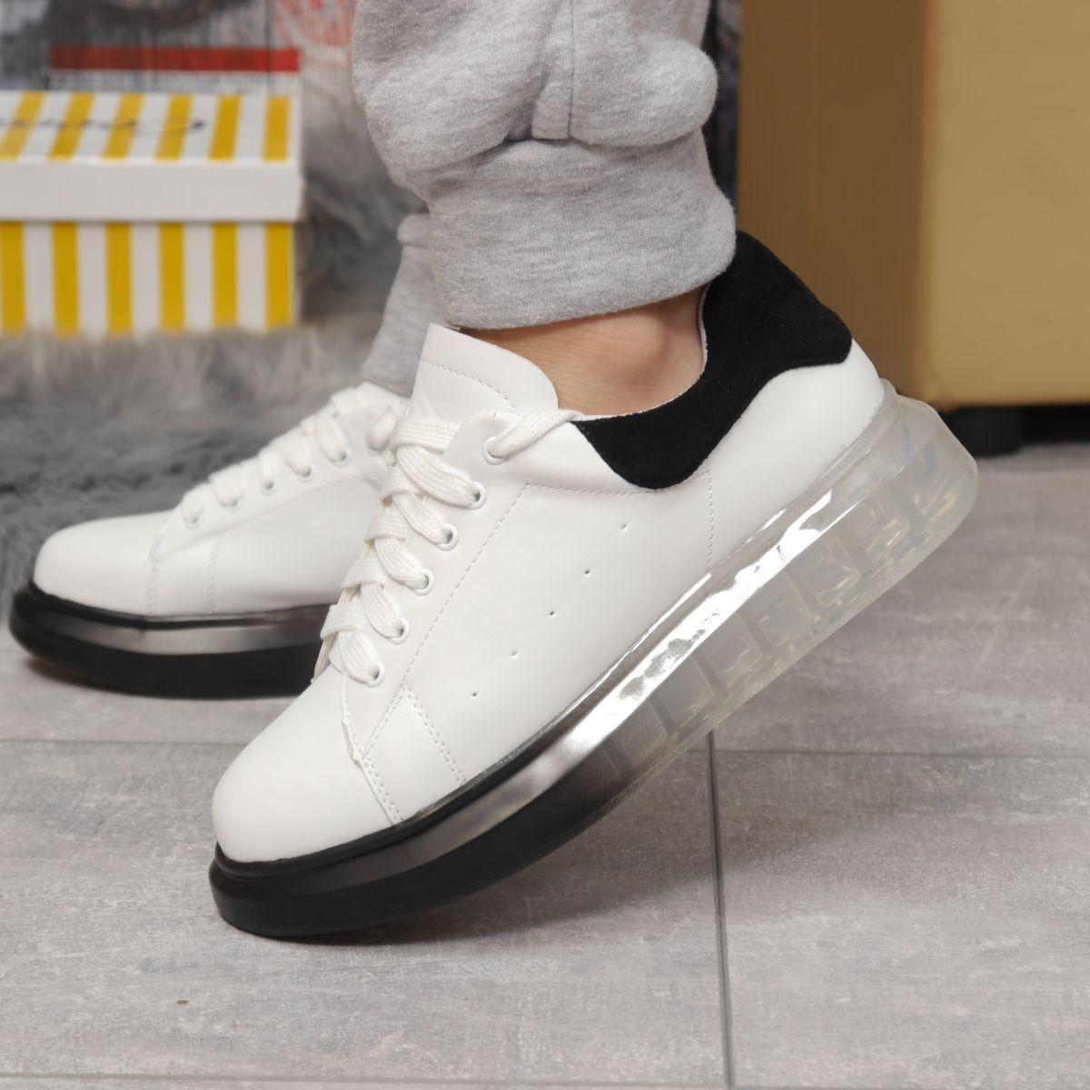 Кросівки жіночі 17161, MkQueen, білі, [ 36 37 38 39 40 ] р. 36-23,5 див.
