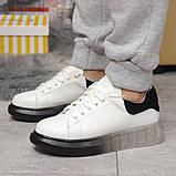 Кросівки жіночі 17161, MkQueen, білі, [ 36 37 38 39 40 ] р. 36-23,5 див., фото 2