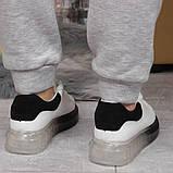 Кросівки жіночі 17161, MkQueen, білі, [ 36 37 38 39 40 ] р. 36-23,5 див., фото 5