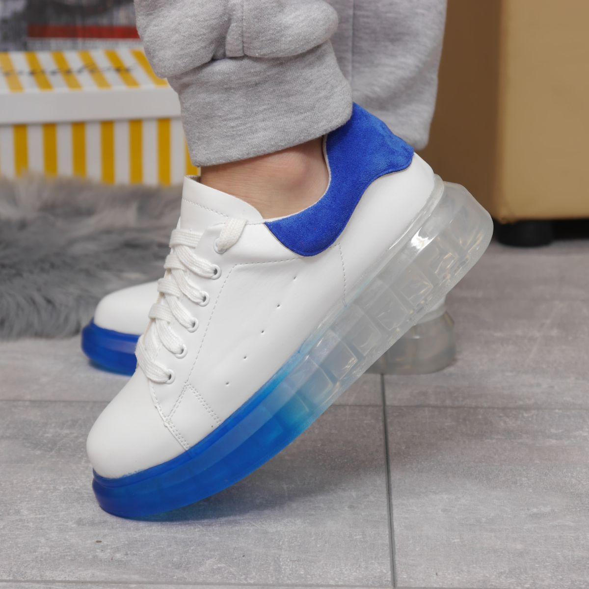 Кросівки жіночі 17163, MkQueen, білі, [ 36 37 38 39 40 ] р. 37-24,0 див.