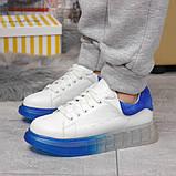 Кросівки жіночі 17163, MkQueen, білі, [ 36 37 38 39 40 ] р. 37-24,0 див., фото 2