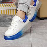 Кросівки жіночі 17163, MkQueen, білі, [ 36 37 38 39 40 ] р. 37-24,0 див., фото 3