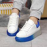 Кросівки жіночі 17163, MkQueen, білі, [ 36 37 38 39 40 ] р. 37-24,0 див., фото 4