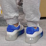 Кросівки жіночі 17163, MkQueen, білі, [ 36 37 38 39 40 ] р. 37-24,0 див., фото 5
