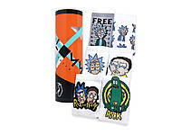 Подарочный набор с носками в тубусе Rick and Morty tube