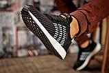 Кросівки чоловічі 15334, Adidas Iniki, чорні, [ 44 ] р. 44-28,0 див., фото 5