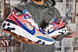 Кросівки чоловічі 15393, Nike React, сині, [ 42 44 ] р. 42-27,0 див., фото 6