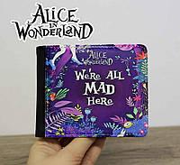"Гаманець Аліса в країні чудес ""We are all mad here"" / Alice in Wonderland"