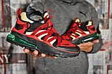 Кросівки чоловічі 15481, Nike Air, червоні, [ 41 ] р. 41-26,5 див., фото 6