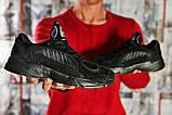 Кроссовки мужские 15516, Adidas Yung 1, черные [ 42 ] р.(42-26,5см), фото 6