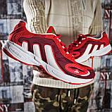 Кроссовки мужские 15914, Adidas Galaxy, красные [ 45 ] р.(45-29,0см), фото 6