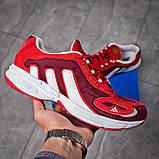 Кроссовки мужские 15914, Adidas Galaxy, красные [ 45 ] р.(45-29,0см), фото 7